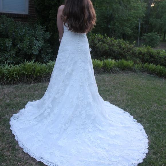 Allure Bridals Dresses | Modified Aline Sweetheart Neckline Wedding ...